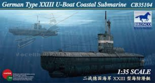 German U-XXIII Coastal Submarin