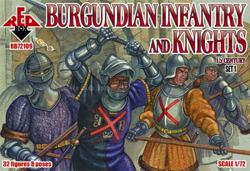 Burgundian infantry a.knights