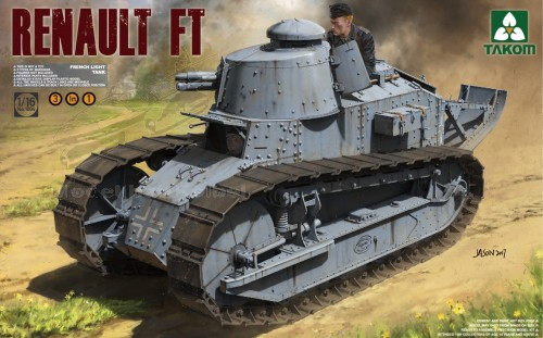 French Light Tank Renault FT-17 3