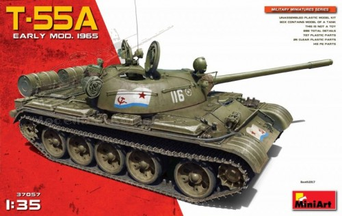 T-55A Early Mod. 1965