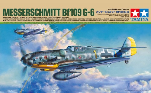 Bf 109 G-6 dt. Ausf.