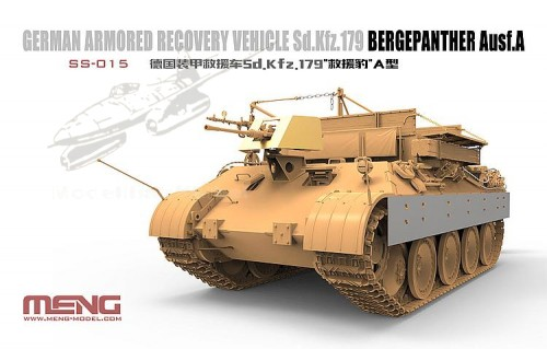 Sd.Kfz.179 Bergepanther Ausf.A