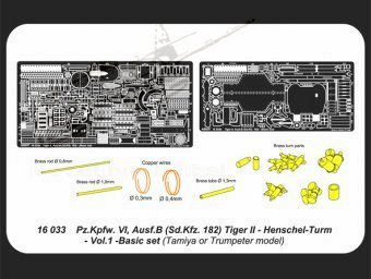 Tiger II Henshel- Vol.1- Basic set