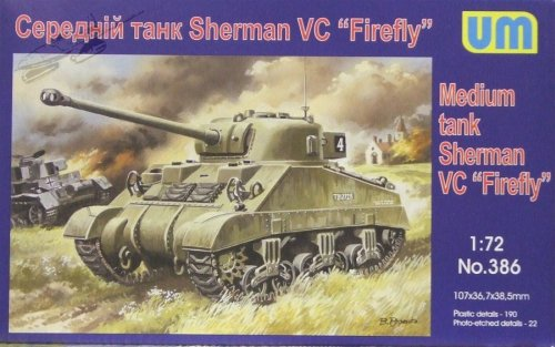 "Medium Tank Sherman VC ""Firefly&quo"