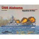 USS Alabama Squadron At Sea Book