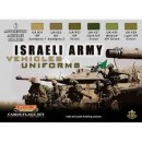 Color Set Israeli Army Vehicles & Uniforms 6x22ml.