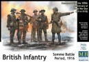 British Infantry, Somme Battle Period 1916