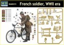 French Soldier, WWII era