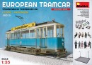 European Tramcar with Crew&passengers