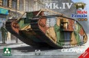 WWI Heavy Battle Tank Mk.IV 2in 1