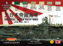 Color Set Imperial Japan Navy late WWII Set 2